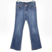 "Seven 7 Jeans Women's Size 29 Boot Cut Blue Medium Wash 31""Inseam Stretch"