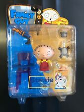 Family Guy Stewie Griffin Series 1 Laser Action Figure Scale Mezco Toy Figurine