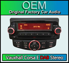 Vauxhall Corsa E stereo CD player, DAB RADIO, Bluetooth Handsfree, AUX in