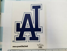 "Los Angeles Dodgers MLB 5"" x 7"" Logo Window Cling, Sponsored By Chevy"