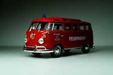 Volkswagen Transporter T1 VAN (1962) Scale 1:43 YatMing Diecast Fire car minibus