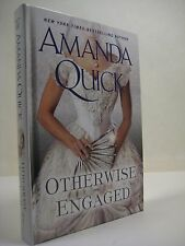 Otherwise Engaged by Amanda Quick (2014, Hardcover) Large Print Edition