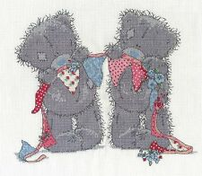 "DMC Tatty Teddy contati Punto Croce Kit ""Bunting ORSI"""