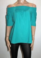 Piper Brand Teal Short Sleeve Off Shoulder Top Size 12 LIKE NEW  #SJ20