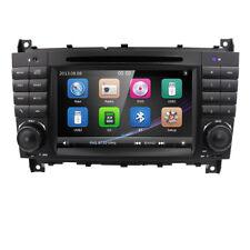 In Dash GPS Navi Radio DVD Player fit Mercedes Benz C-Class CLC CLK W203 W209