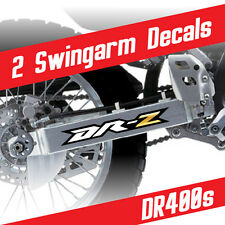 DRZ400s Graphic kit Swingarm decals stickers set GOLD YELLOW Suzuki DRZ