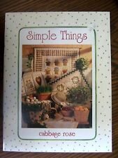 Simple Things ~ Cabbage Rose by Barbara Brandeburg (1997) Paperback