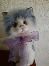 Charlie Bears - Mohair Cat, Macavity, Used but in Excellent Condition.