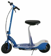 RAZOR E300S Electric Motorized Seated Scooter - Blue (Used)