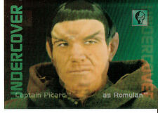 STAR TREK 30 YEARS PHASE 2 UNDERCOVER CARD L3