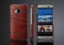 Fundas y carcasas brillantes de color principal marrón para teléfonos móviles y PDAs HTC