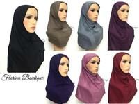 Full underscarf cap under hijab, lovely stretchy jersey material