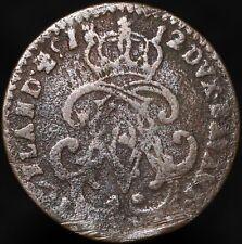 More details for 1712 spanish netherlands namur maximillan emmanuel of bavaria 1 liard | km coins