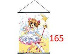 Poster en tissu Sakura Chasseur de cartes carte captor
