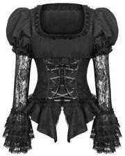 Maglie e camicie da donna camicetta in misto cotone taglia XS