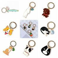 Durable Cartoon Plants Animal Pendant Keyring Hand Bag Car Useful Gift Candy