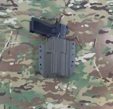 SIG SAUER P320 X-FIVE 9mm Kydex Holster Outside Waistband OD Green