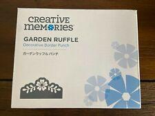 Creative Memories Garden Ruffle Decorative Border PunchExclusive Flower Punch