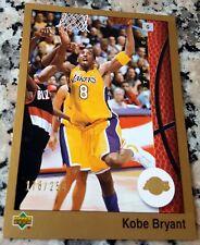 KOBE BRYANT 2002 Upper Deck GOLD SP 178/250 1989 Style Lakers 5 Rings 2x MVP $$