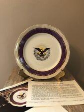 Danbury Mint Pres. Abraham Lincoln White House Bavaria China Collector Plate