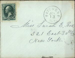 1912 New York Letter Sarah B Roe