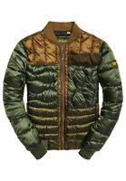 NEW Men's SuperDry 'Convex Mixed Quilt Bomber' Jacket  - S M XL 2XL 3XL
