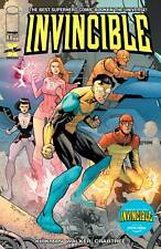 INVINCIBLE #1 / AMAZON PRIME VIDEO EDITION VARIANT / KIRKMAN IMAGE CARTOON