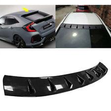 STOCK LA Glossy Black For Honda Civic X 4DR Window Roof Fin Spoiler 2018 EX-L