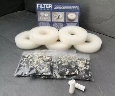 5 X Compatible biOrb Flow Filter Service Kit Bio Orb Replacement Coat Zyme Flo