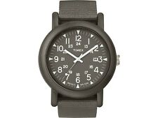Timex TW2P62500 Camper Men's Black Nylon Bracelet With Black Analog Dial Watch