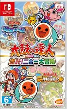 Taiko no Tatsujin Rhythmic Adventure Pack Asia Chinese subtitle Switch BRAND NEW