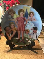 The Shirley Temple Classics Little Miss Marker Collector Plate No# 3218 Vintage