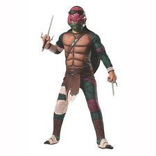 Rubies Teenage Mutant Ninja Turtles Deluxe Muscle-chest Raphael Costume Child S