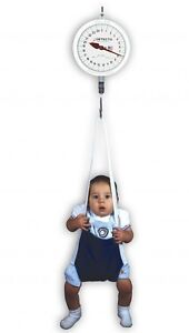 NEW Detecto MCS25KGNT Suspended Baby Infant Physician's Hanging Weighing Scale