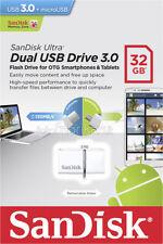 SanDisk Ultra 32GB USB 3.0 OTG Flash Drive micro Android MOBIL SDDD2-032G-G46