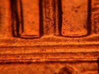 2004-D Double Die Reverse US Mint Error Lincoln Memorial Cent