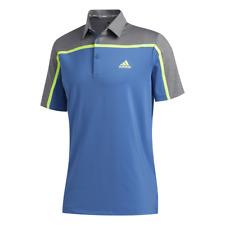 adidas Golf Ultimate365 Colour Blocked Polo Shirt (Trace Royal - XXL)