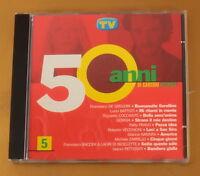 50 ANNI DI CANZONI ITALIANE N° 5 - TV SORRISI - 2000 - OTTIMO CD [AD-257]