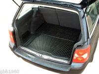 Modular rubber boot liner load mat bumper protector VW Passat estate 1988-2006
