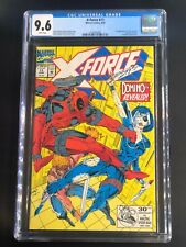 X-Force 11 CGC 9.6 WHITE Pages June 1992 Marvel Deadpool! Domino! ORIGINAL OWNER