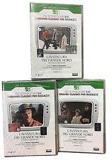 3 Dvd Sceneggiati Rai «JACK LONDON ~ L'AVVENTURA DEL GRANDE NORD» completa 1974