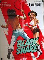 BLACK SNAKE (Kinoplakat / Filmplakat '73) - RUSS MEYER / ANOUSKA HEMPEL