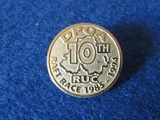 Police Enamel Badge - DPOA - RUC - 10th Raft Race - 1985-1994