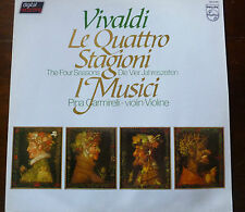 VIVALDI - LE QUATTRO STAGIONI - THE FOUR SEASONS - I MUSICI - CARMIRELLI - NM/NM