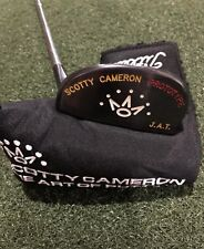Titleist Scotty Cameron Sergio Garcia Prototype JAT Putter With Headcover MINT
