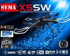 Syma X5SW WIFI FPV 2.4Ghz RC Drone Quadcopter 6Axis 4CH HD Camera Black RTF
