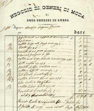 Negozio di Generi di Moda di Rosa Petrini in Lucca 1835