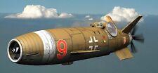 Cu-137 E-1 Luftwaffe VTOL Gun-Armed Aircraft Model Replica Small Free Shipping