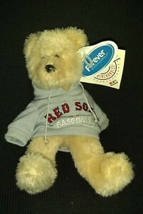 Boston Red Sox Forever collectables MLB merchandise Plush beanieTeddy Bear NEW