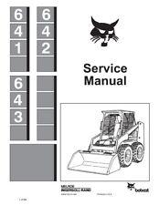 heavy equipment manuals books for bobcat skid steer ebay rh ebay com